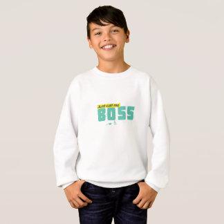 ちょうど私を子供がHanes ComfortBlend®発汗させるボスと電話して下さい スウェットシャツ