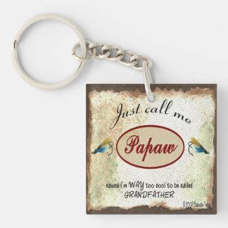 ちょうど私をPapawの魚釣りの魅惑Keychainと電話して下さい キーホルダー