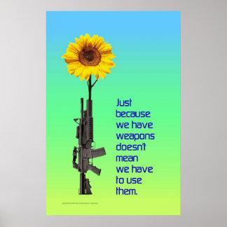 ちょうど私達に武器が…あるので ポスター
