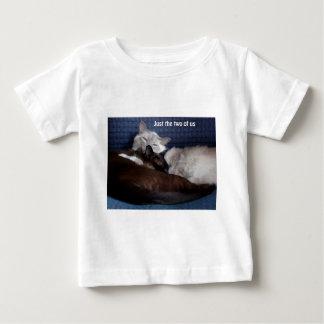 ちょうど私達二人-バージョン2 ベビーTシャツ