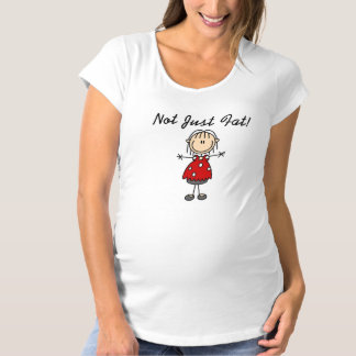 ちょうど脂肪質 マタニティTシャツ