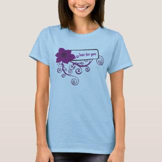 ちょうど花あなたのために Tシャツ