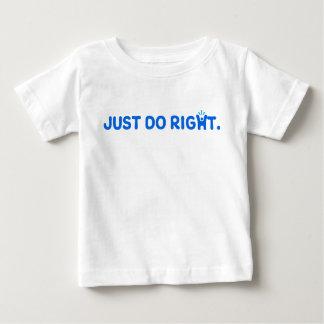 ちょうど訂正して下さい ベビーTシャツ