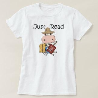 ちょうど読書 Tシャツ