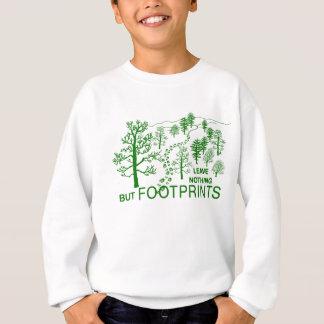 ちょうど足跡のgrn スウェットシャツ