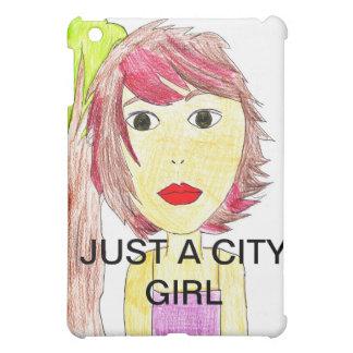ちょうど都市女の子のipadの例 iPad mini カバー