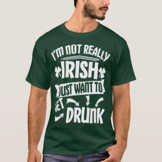 ちょうど飲まれる得たいと思って下さい Tシャツ