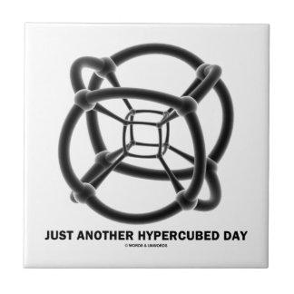 ちょうどHypercubed別の日(4-D Polytope) タイル