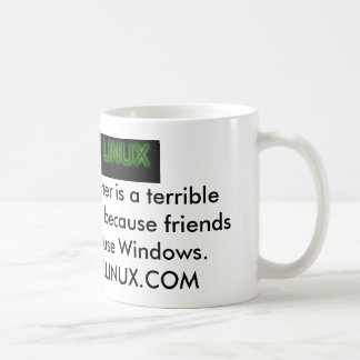 ちょうどLinuxをので…使用して下さい コーヒーマグカップ