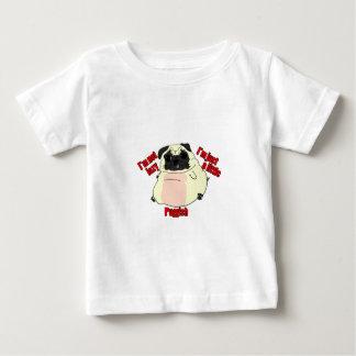 、ちょうどpuggish.不精 ベビーTシャツ