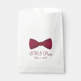 ちょうネクタイのBowtieのフォーマルなプロムのカスタムな好意のバッグ フェイバーバッグ