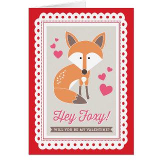 ちょっとずるい! Origamiによってバレンタインを折られたカード印刷します ノートカード