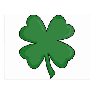 ちょっとアイルランドのシャムロック! ポストカード