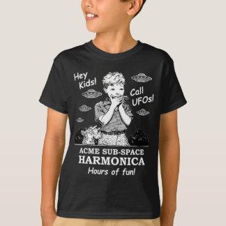 ちょっと子供! 呼出しUFOs! Tシャツ