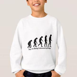 ちょっと私は猿に先行させています スウェットシャツ
