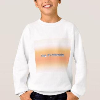 ちょっと興味深い スウェットシャツ