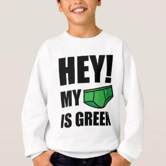 ちょっと! 私の下着は緑です! スウェットシャツ