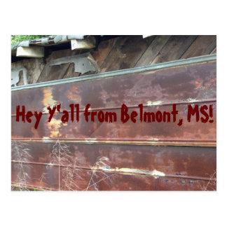 ちょっとBelmont、MSからの! ポストカード