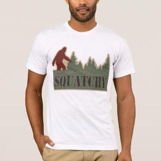 ちょっとSquatchyを感じること Tシャツ