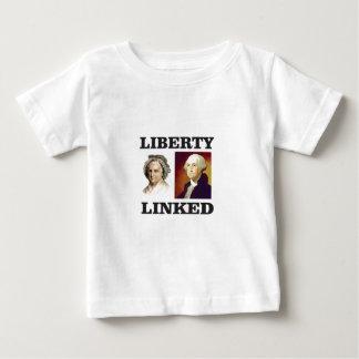 つながる自由 ベビーTシャツ