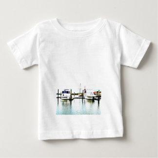 つながれるボート ベビーTシャツ
