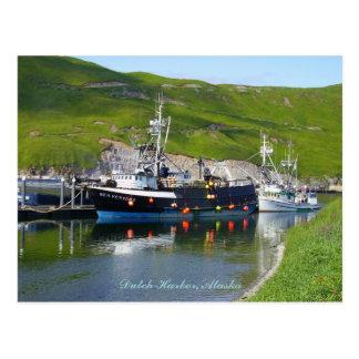 つばの海の投機、オランダ港、アラスカ ポストカード