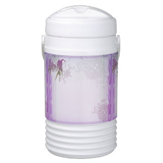 つばめのタケ紫色の葉のつる植物 ドリンククーラー