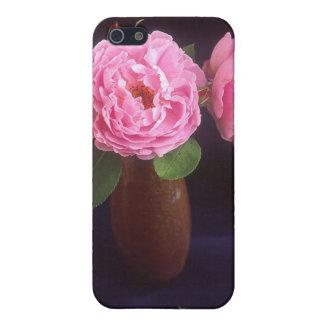 つぼのピンクの花 iPhone 5 CASE