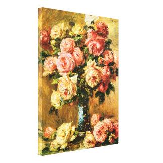 つぼのルノアールのファインアートのバラ キャンバスプリント
