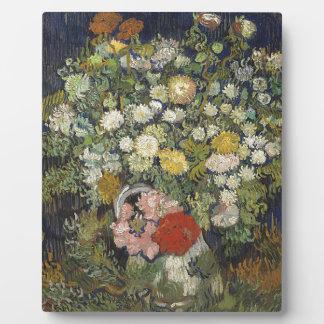 つぼの花の花束 フォトプラーク