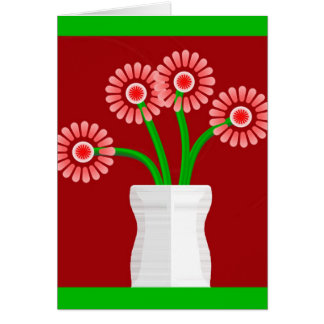 つぼの花束 カード