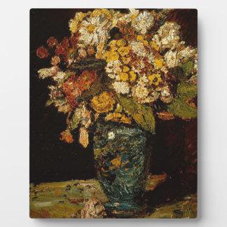 つぼの花 フォトプラーク