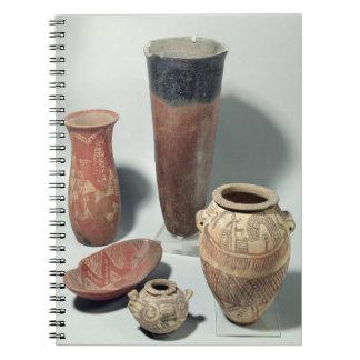 つぼの選択、Naqada I/IIの期間、4000-3100 ノートブック