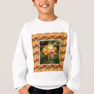 つぼみ: 一見愛のようなエレガントなダイヤモンドのルビー スウェットシャツ