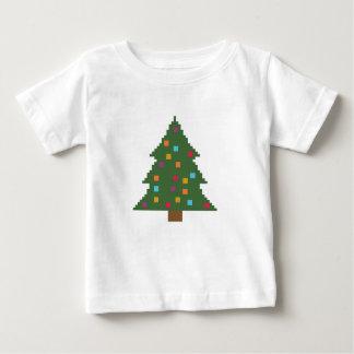 つまらないものが付いているクリスマスツリー ベビーTシャツ