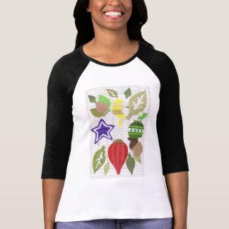 つまらないもののリースの女性の四分の三の長さの上 Tシャツ