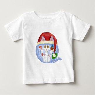 つまらないもの猫のクリスマス ベビーTシャツ