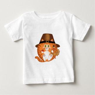 つまらないもの猫の感謝祭 ベビーTシャツ