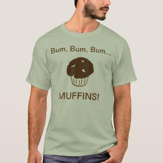 つまらなくつまらなくつまらないマフィン Tシャツ