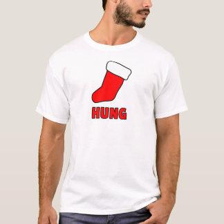 つるされたクリスマスのTシャツ Tシャツ