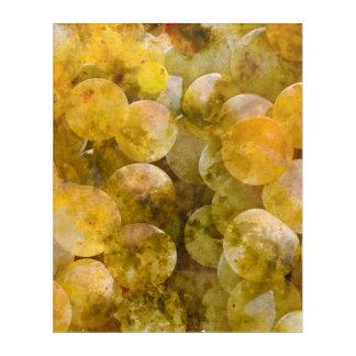 つる植物のシャードネーワインブドウ アクリルウォールアート