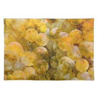 つる植物のシャードネーワインブドウ ランチョンマット