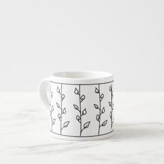 つる植物のライン エスプレッソカップ
