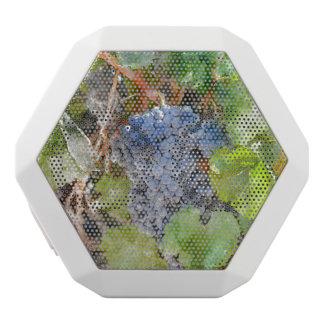 つる植物の赤ワインのブドウ ホワイトBluetoothスピーカー