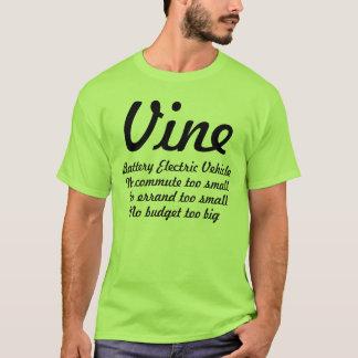 つる植物電池の電気vheicle tシャツ
