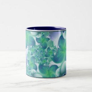 つる植物 ツートーンマグカップ