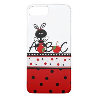 てんとう虫および水玉模様のiPhone 7のプラスの場合 iPhone 8 Plus/7 Plusケース