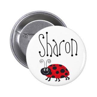 てんとう虫の名前-ボタン 5.7CM 丸型バッジ