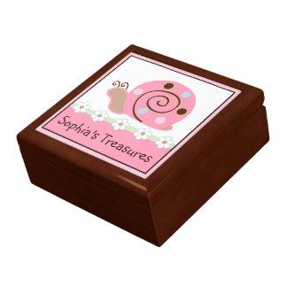 てんとう虫の子守唄かかたつむりの記念品箱 ギフトボックス