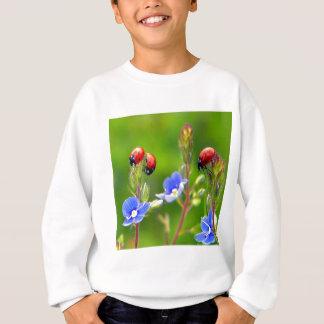 てんとう虫の庭 スウェットシャツ